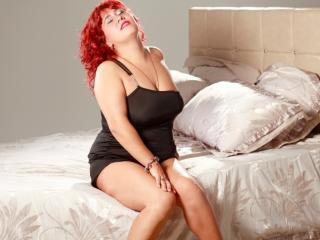 Sexet profilfoto af model MagnificentDame, til meget hot live show webcam!