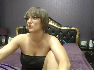 Picture of the sexy profile of MistressKali, for a very hot webcam live show !