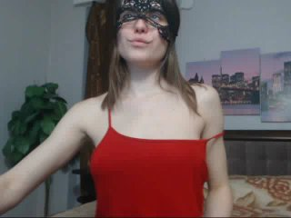 AnisWillis pussy eating cam show