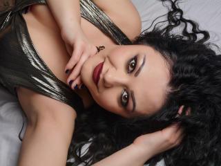 Foto de perfil sexy da modelo Adilla, para um live show muito quente!