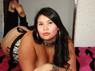 Sexy profilbilde av modellen  AlysonHott, for et veldig hett live webcam-show!