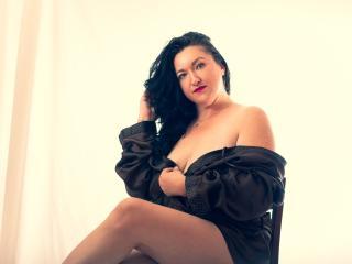 Velmi sexy fotografie sexy profilu modelky AmourMilf pro live show s webovou kamerou!