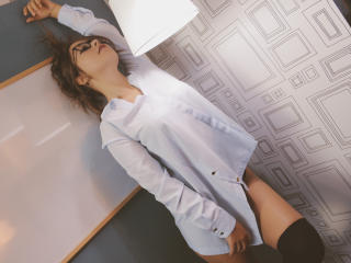 Photo de profil sexy du modèle BubblyStorm, pour un live show webcam très hot !