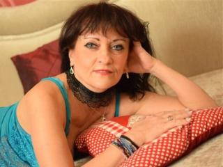 Sexet profilfoto af model CindyCreamy, til meget hot live show webcam!