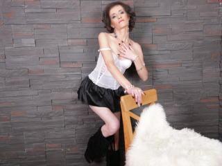 Velmi sexy fotografie sexy profilu modelky ClarisaBeauty pro live show s webovou kamerou!