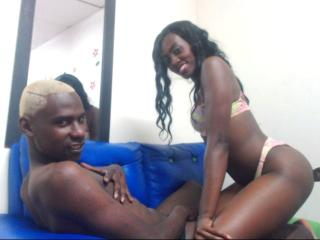 Picture of the sexy profile of CoupleblackHard, for a very hot webcam live show !