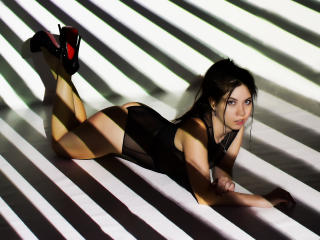 Sexet profilfoto af model CuteApril, til meget hot live show webcam!