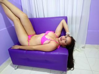 Velmi sexy fotografie sexy profilu modelky EmmaFrost pro live show s webovou kamerou!