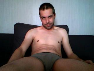 Picture of the sexy profile of Greg1982, for a very hot webcam live show !