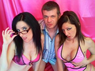Picture of the sexy profile of GroupFuckTrio, for a very hot webcam live show !