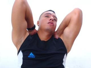Picture of the sexy profile of JeanHotLatin, for a very hot webcam live show !