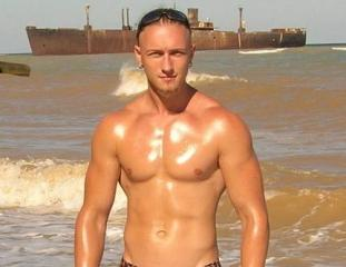 Picture of the sexy profile of JeremyMuscle, for a very hot webcam live show !