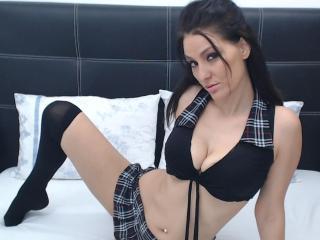 Hình ảnh đại diện sexy của người mẫu JoliDanielle để phục vụ một show webcam trực tuyến vô cùng nóng bỏng!