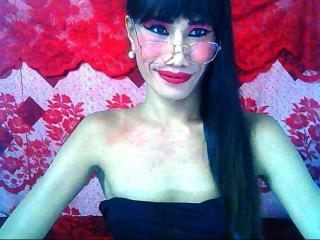 Seksikäs profiilivalokuva LadyBoyBigDick kuumaa webcam live show'ta varten!