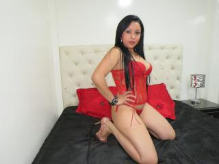 Sexet profilfoto af model LatinaHotX69, til meget hot live show webcam!