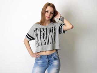 Velmi sexy fotografie sexy profilu modelky LexyPeach pro live show s webovou kamerou!