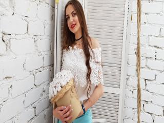 Sexet profilfoto af model MaryLisette, til meget hot live show webcam!
