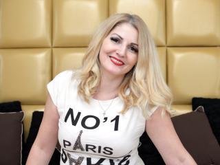 Sexet profilfoto af model Marysele, til meget hot live show webcam!