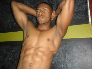 Picture of the sexy profile of MasterMuscle, for a very hot webcam live show !