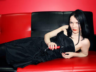 Velmi sexy fotografie sexy profilu modelky MissKami pro live show s webovou kamerou!