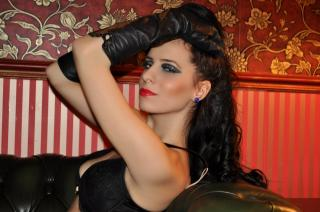 Picture of the sexy profile of MistressSophie, for a very hot webcam live show !