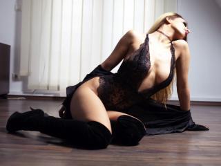 Velmi sexy fotografie sexy profilu modelky Moona pro live show s webovou kamerou!