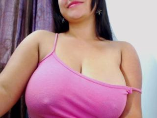 Photo de profil sexy du modèle PaolaMendoza, pour un live show webcam très hot !