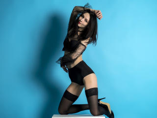 Photo de profil sexy du modèle PrettyLinda, pour un live show webcam très hot !