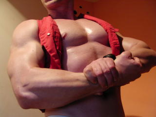 Picture of the sexy profile of SuperFitness, for a very hot webcam live show !