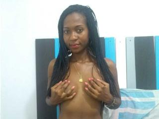 Photo de profil sexy du modèle sweetchocolateClear, pour un live show webcam très hot !