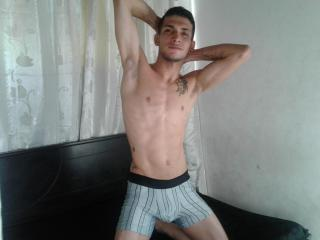 Picture of the sexy profile of TommyChaud, for a very hot webcam live show !