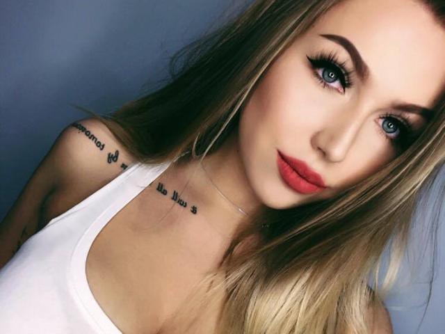 Photo de profil sexy du modèle EmillySexy, pour un live show webcam très hot !