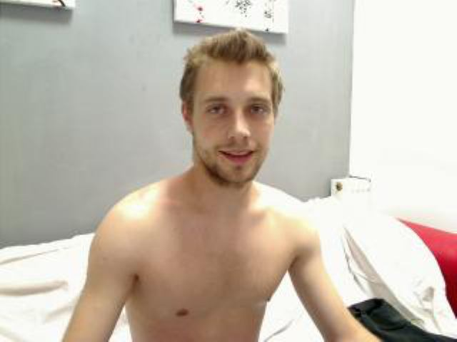 Picture of the sexy profile of MaxField, for a very hot webcam live show !