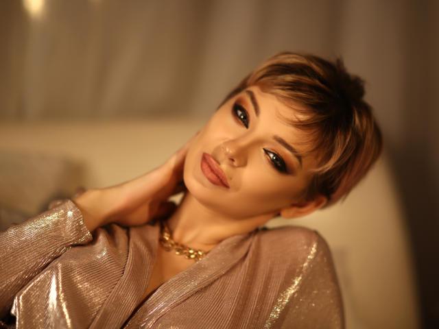 Photo de profil sexy du modèle VivienneMartin, pour un live show webcam très hot !