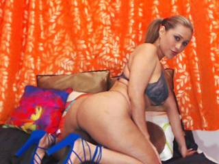GinerieX - Web cam nude with a latin Gorgeous lady