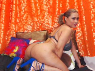 GinerieX - Webcam sex with a latin american Horny lady