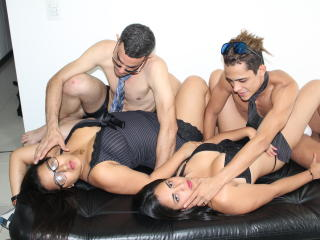 AmzingGroupV - Live exciting with a Sexual quartet