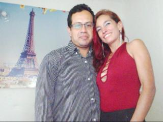 DuoDiamante - Webcam live xXx with this shaved genital area Partner