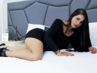 EllenKendrick - Webcam nude with a latin american Hot babe