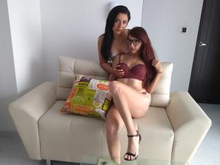 AbrilNkamila - Live hard with a red hair Lesbo