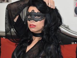 Foto de perfil sexi, da modelo MistressDebrah, para um live show webcam muito quente!