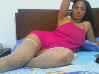 Photo de profil sexy du modèle TainaX, pour un live show webcam très hot !