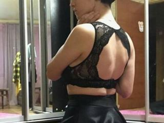 Picture of the sexy profile of AsyWhithLove, for a very hot webcam live show !