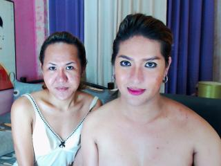 Photo de profil sexy du modèle TsCumDuo, pour un live show webcam très hot !