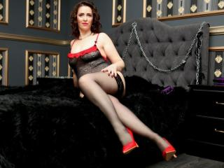 Sexet profilfoto af model AlluringSwitch, til meget hot live show webcam!