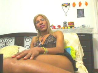 Picture of the sexy profile of BlackNice, for a very hot webcam live show !