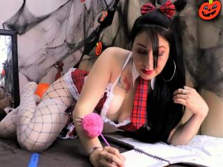 Picture of the sexy profile of BelkyX, for a very hot webcam live show !