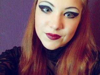 Bild på den sexiga profilen av MissLoraa för en väldigt het liveshow i webbkameran!