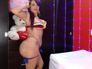 Photo de profil sexy du modèle DanielaXHotty, pour un live show webcam très hot !