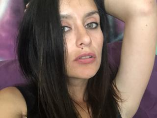 Sexet profilfoto af model BelleSue, til meget hot live show webcam!